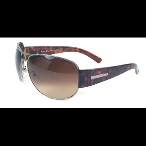 54d29c0f657 Prada Accessories - Prada aviator sunglasses - tortoise shell unisex